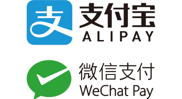 ALIPAY・WeChatPay